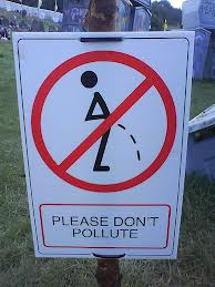 please don't pollute
