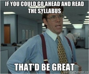 go ahead and read the syllabus