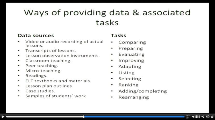 data and tasks GDM